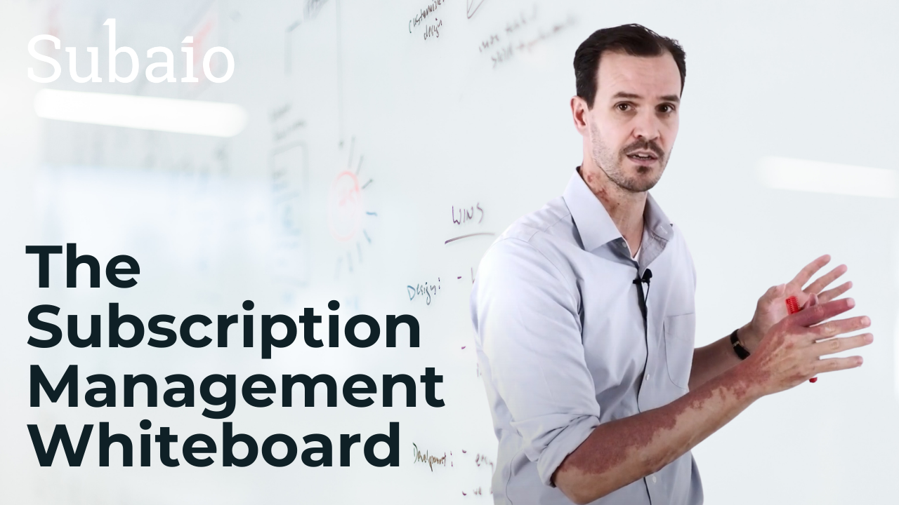 the subscription management whiteboard
