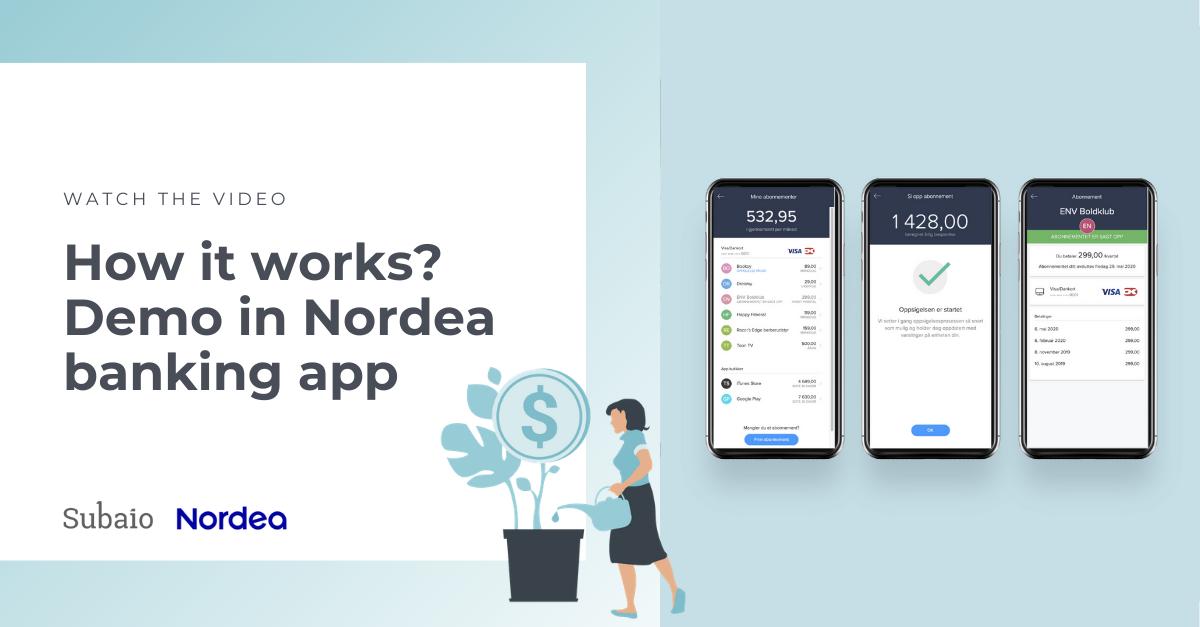 nordea banking app demo