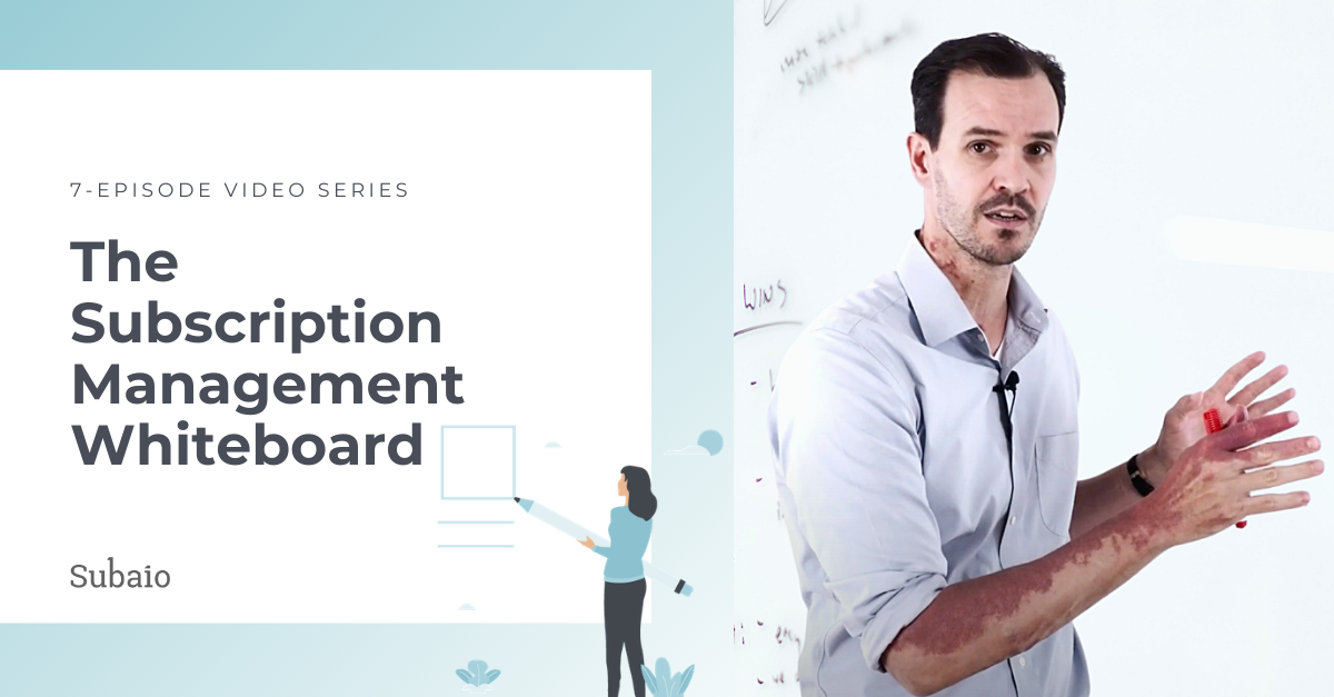 subscription management whiteboard video series