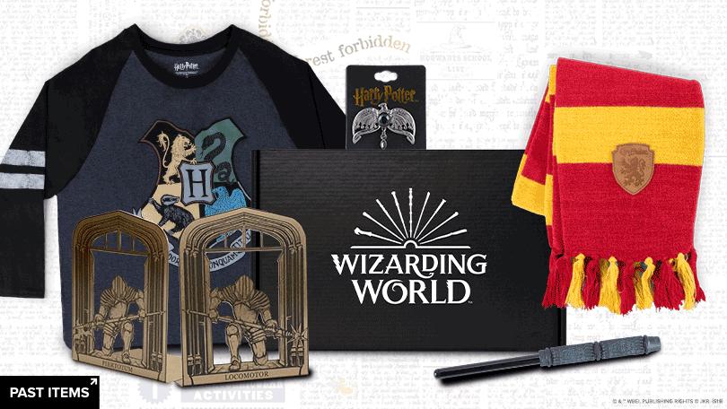 wizarding world subscription