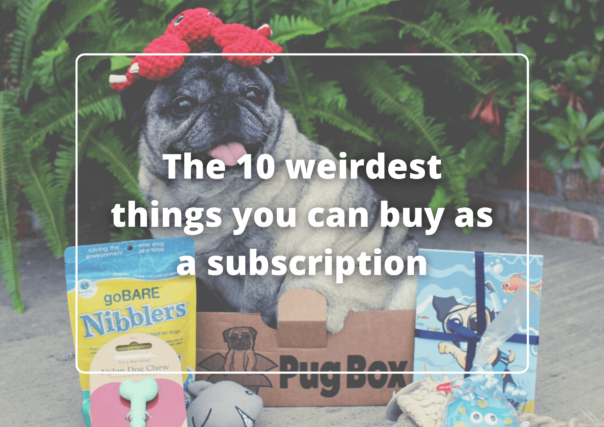 10 weirdest things you can buy as a subscription