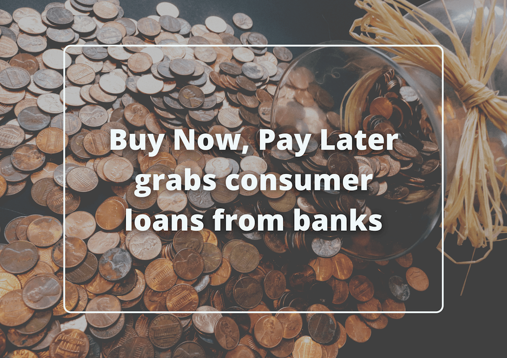 BNPL grabs consumer loans from banks